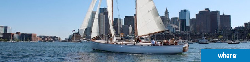 Sail Boston aboard they Sailboat Schooner Adirondack