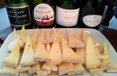 Wine and Cheese aboard the Luxury Yacht Northern Lights for a Bridal Shower in Boston Harbor