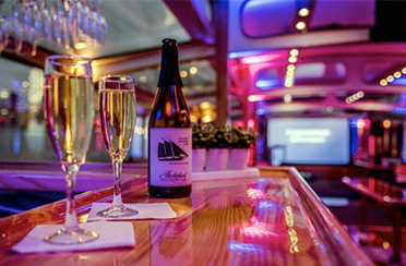 Company Party on classic yacht Northern Lights in Boston Harbor