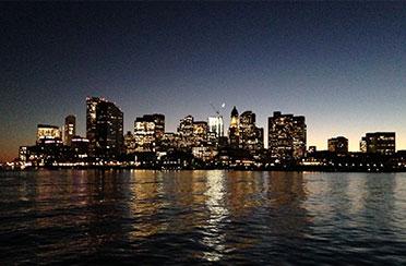 Boston Harbor City Lights Boat Tour