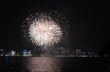 Harborfest Fireworks Cruise in Boston Harbor
