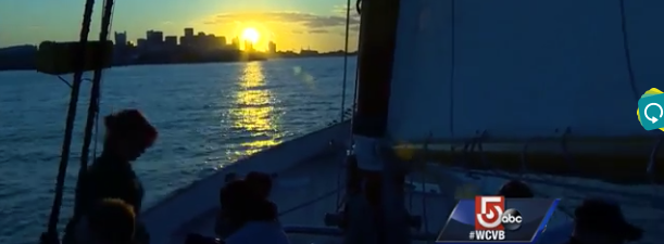 Boston Harbor Sunset Sailing