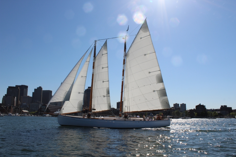 Schooner Adirondack III, Boston Harbor Sailing | Classic